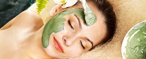 маска для лица с ламинарией