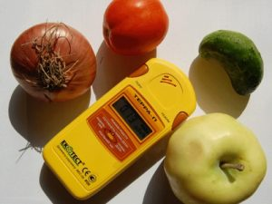 дозиметры для пищевых продуктов