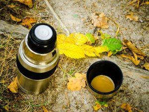термос и осень