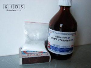 опыт с борной кислотой